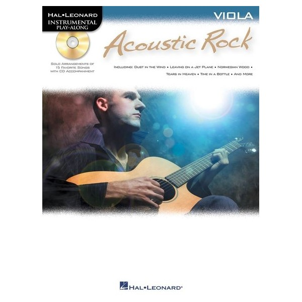 Instrumental Play-Along: Acoustic Rock (Viola)