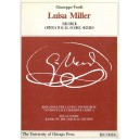 Verdi, Giuseppe - Luisa Miller (Vocal Score)