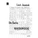 Janacek, Leos - The Macropolus Case