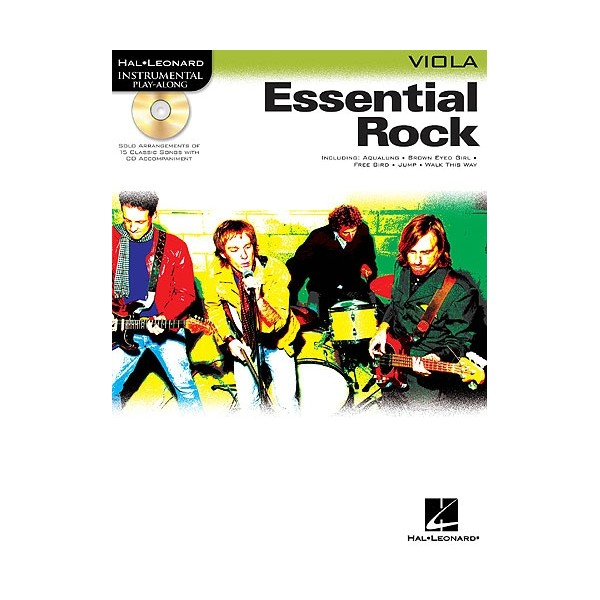 Instrumental Play-Along: Essential Rock (Viola)