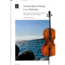 Lost Melodies arranged for Cello by Stutschewsky