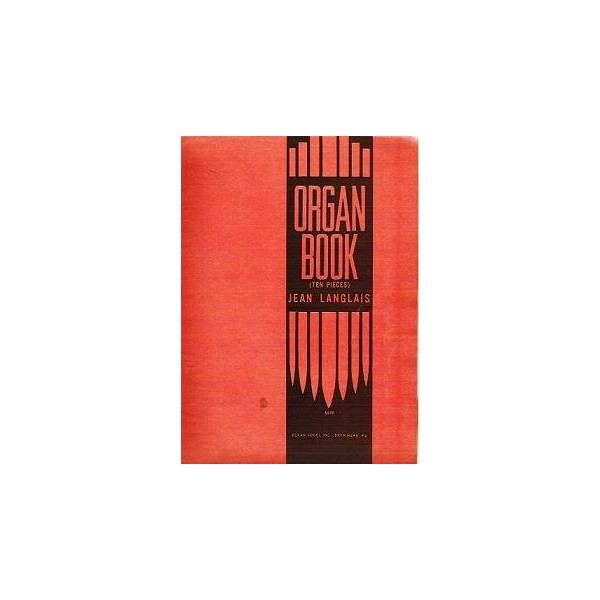Langlais Organ Book 10 Pieces