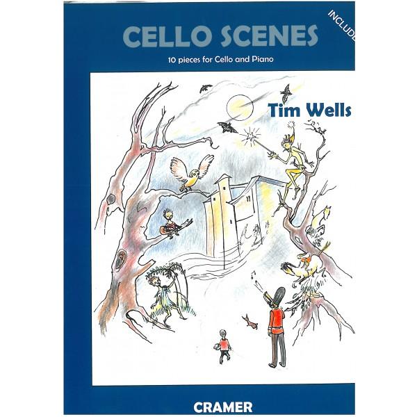 Wells, Tim - Cello Scenes
