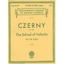 Carl Czerny: The School Of Velocity Op.299 (Complete) - Czerny, Carl (Artist)