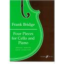 Bridge, Frank - Four Pieces for Cello and Piano