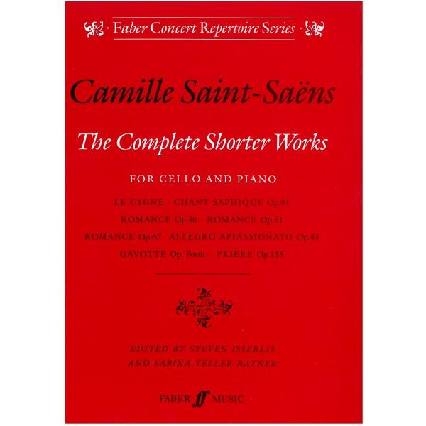 Saint-Saens, Camille - Complete Shorter Works for Cello
