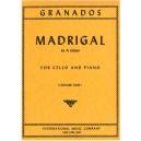Granados, Enrique - Madrigal in A minor