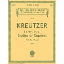Rodolphe Kreutzer: Forty-Two Studies Or Caprices (Violin) - Kreutzer, Rodolphe (Artist)