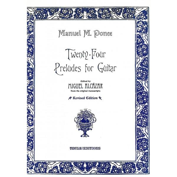 Ponce, Manuel Maria - 24 Preludes