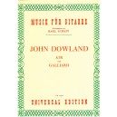 Dowland, John, Air and Galliard (Guitar).