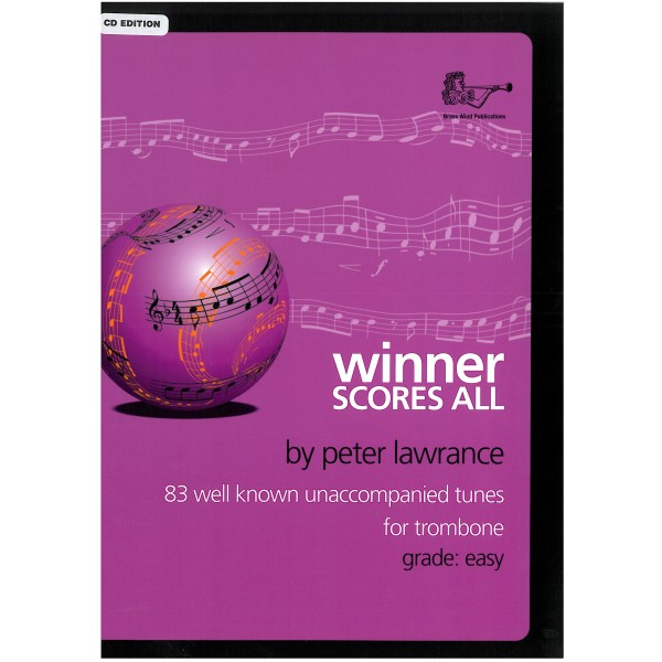 Winner Scores All for trombone with CD