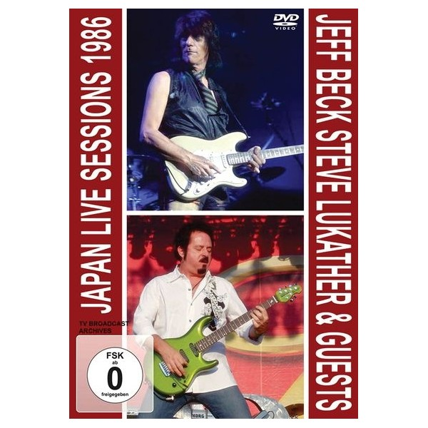 Jeff Beck & Steve Lukather - Japan Live Session 1986