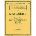 Friedrich Burgmuller: Twenty-Five Easy And Progressive Studies Op.100 (Complete) - Burgmuller, Friedrich (Artist)