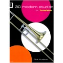 Hudson, Rob - 30 Modern Studies for Trombone