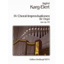 Karg-Elert 14 Chorale-Improvisations for Organ, Op. 65