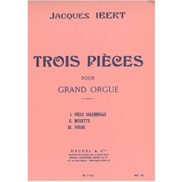 Ibert, Jacques - Trois pièces