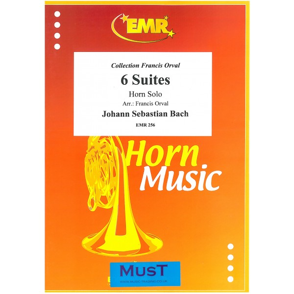 Bach, J S - Six Suites for Horn Solo