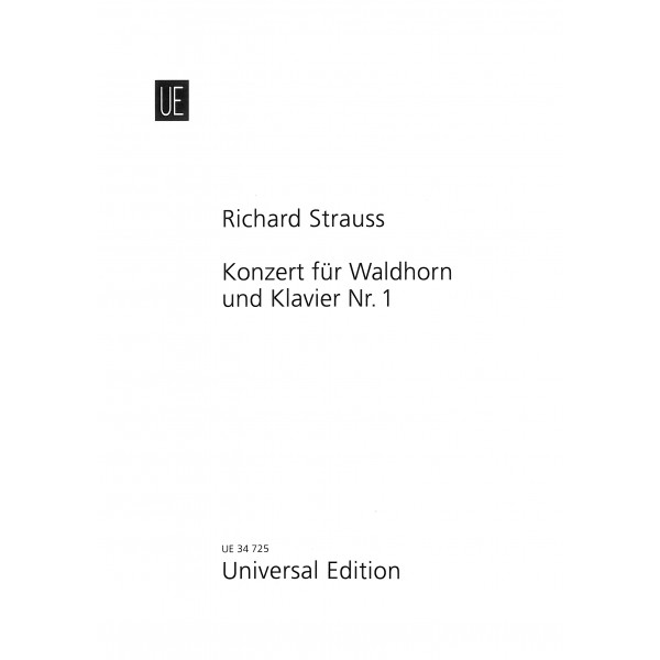 Strauss, Richard - Concerto No1 for Horn