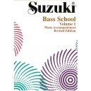 Suzuki Bass School Volume 1