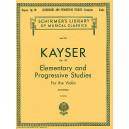 H.E. Kayser: 36 Elementary And Progressive Studies Complete Op.20 (Violin) - Kayser, Heinrich Ernst (Artist)