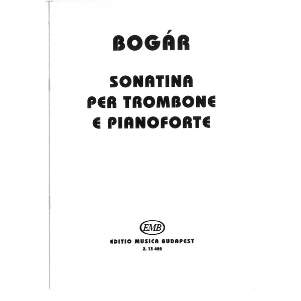 Bogar, Istvan - Sonatina