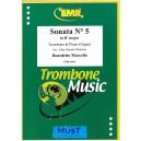 Marcello, Benedetto - Sonata No. 5 in Bb major (Trombone & Piano)
