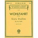 Franz Wohlfahrt: 60 Studies For Solo Violin Op.45 Book 2 (Nos.31-60) - Wohlfahrt, Franz (Artist)