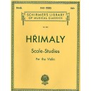 J. Hrimaly: Scale Studies For Solo Violin (Schirmer Edition) - Hrimaly, Johann (Composer)
