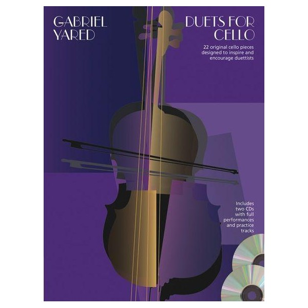 Gabriel Yared: Duets for Cello (Book & 2 CDs) - 0