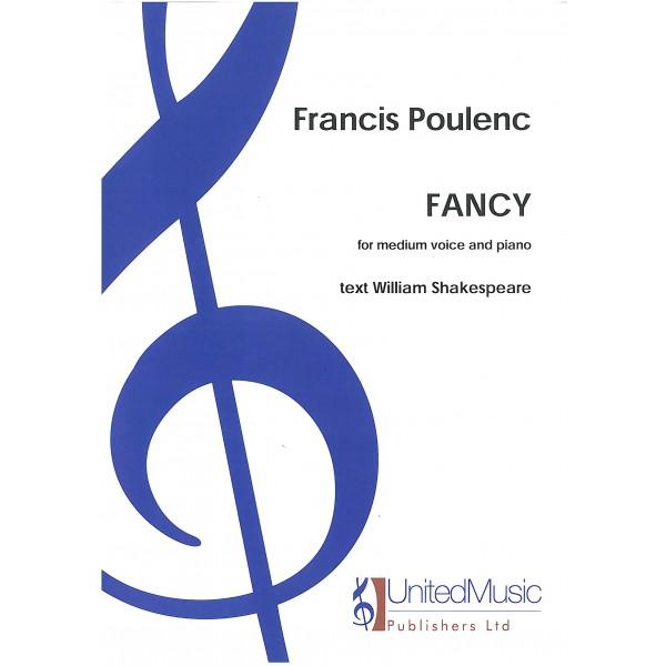 """Poulenc, Francis - Fancy (in G (d'-f""""))"""
