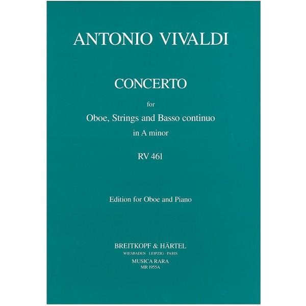Vivaldi, Antonio - Concerto in A minor RV461