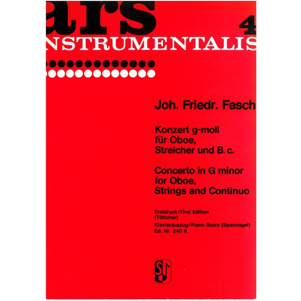 Fasch, Johann Friedrich - Concerto in G minor