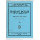 Italian Songs of the 17th & 18th Centuries Vol.2 Low