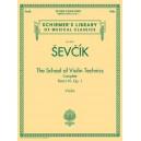 Otakar Sevcik: The School of Violin Technics Complete Op. 1 - Sevcik, Otakar (Composer)