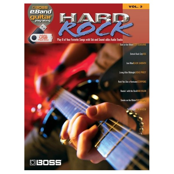 Boss eBand Guitar Play-Along Volume 3