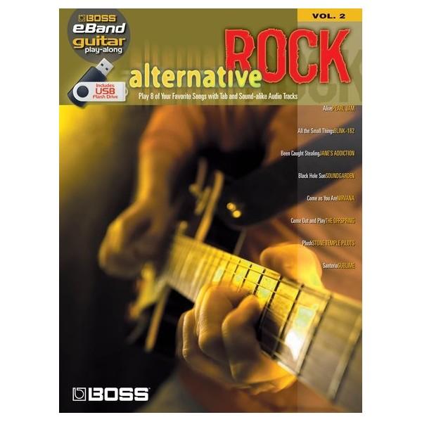 Boss eBand Guitar Play-Along Volume 2: Alternative Rock