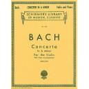 J.S Bach: Violin Concerto No.1 In A Minor BWV1041 (Violin/Piano) - Bach, Johann Sebastian (Artist)