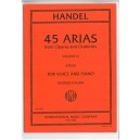 Handel, G F - 45 Arias Volume 3 (High)