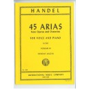 Handel, G F - 45 Arias Volume 3 (Low)