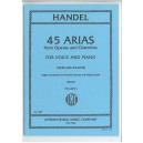 Handel, G F - 45 Arias Volume 1 (High)