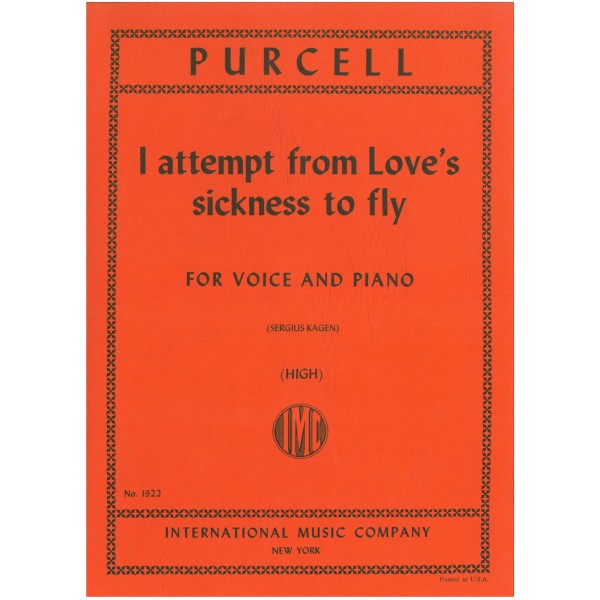 Purcell, Henry - I Attempt fron Loves Sickness (High)