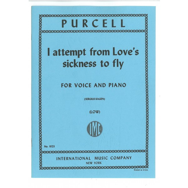 Purcell, Henry - I Attempt fron Loves Sickness (Low)