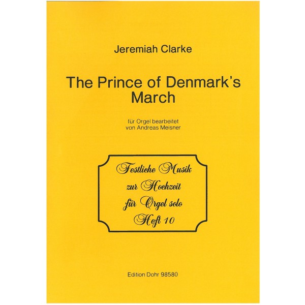 Clarke, Jeremiah - The Prince of Denmark's March