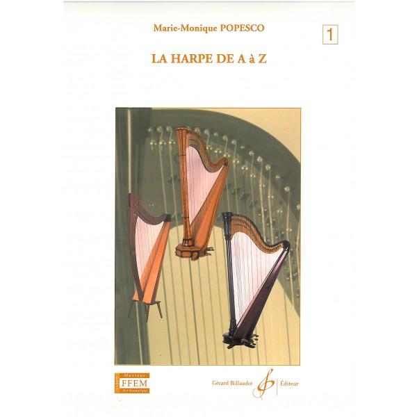 Popesco, Marie-Monique - La Harpe De A a Z, 1