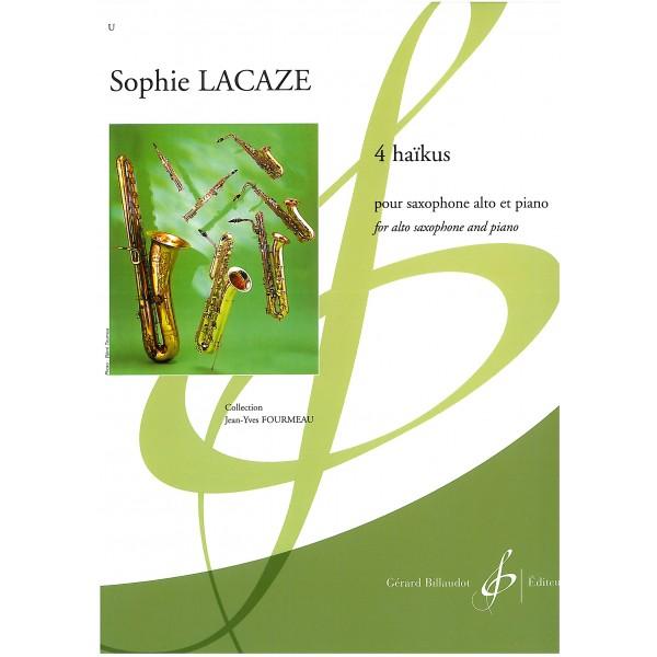 Lacaze, Sophie - 4 Haikus (Eb Sax & Piano)