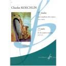 Koechlin, Charles - 15 Etudes Op. 188 (Alto Saxophone & Piano)