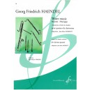 Handel, G F - Water Music for 4 Clarinets