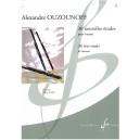 Ouzounoff, Alexandre - 36 new etudes for bassoon, volume 1