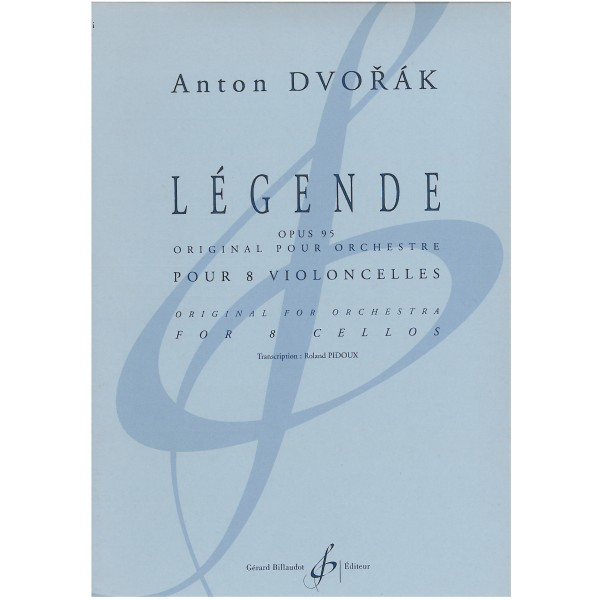 Dvorak, Antonin - Legende for 8 Cellos