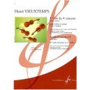 Vieuxtemps, Henri - 1st solo of Concerto no. 4 in D minor